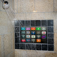 TV in Shower